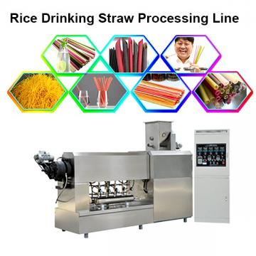 Fully Automatic Drink Straw Rice Flour Straw Making Pasta Noodle Making Machine