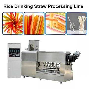 Non Plastic Drinking Straw Extruder Processing Machinery Rice Pasta Straws Manufacturing ...