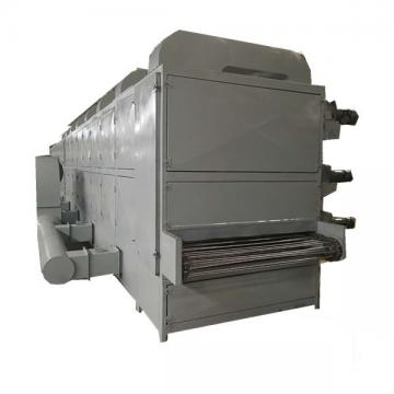 Continuous belt microwave sterilization drying machine for yellow mealworm/tenebrio molitor